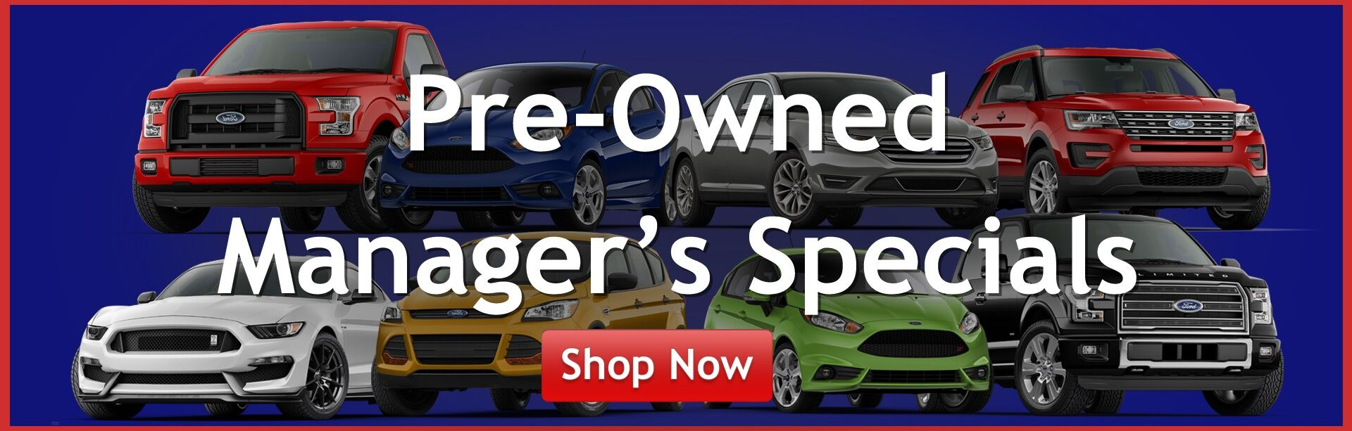 Pre-Owned Manager's Specials