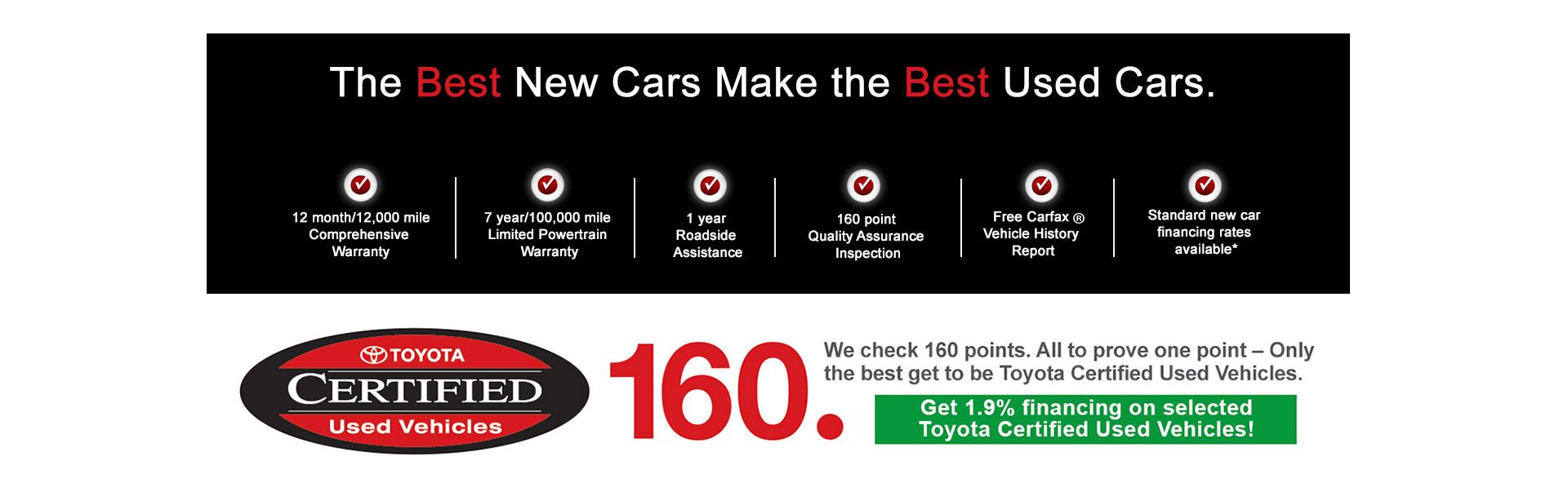 Why buy Toyota Certified Vehicle?