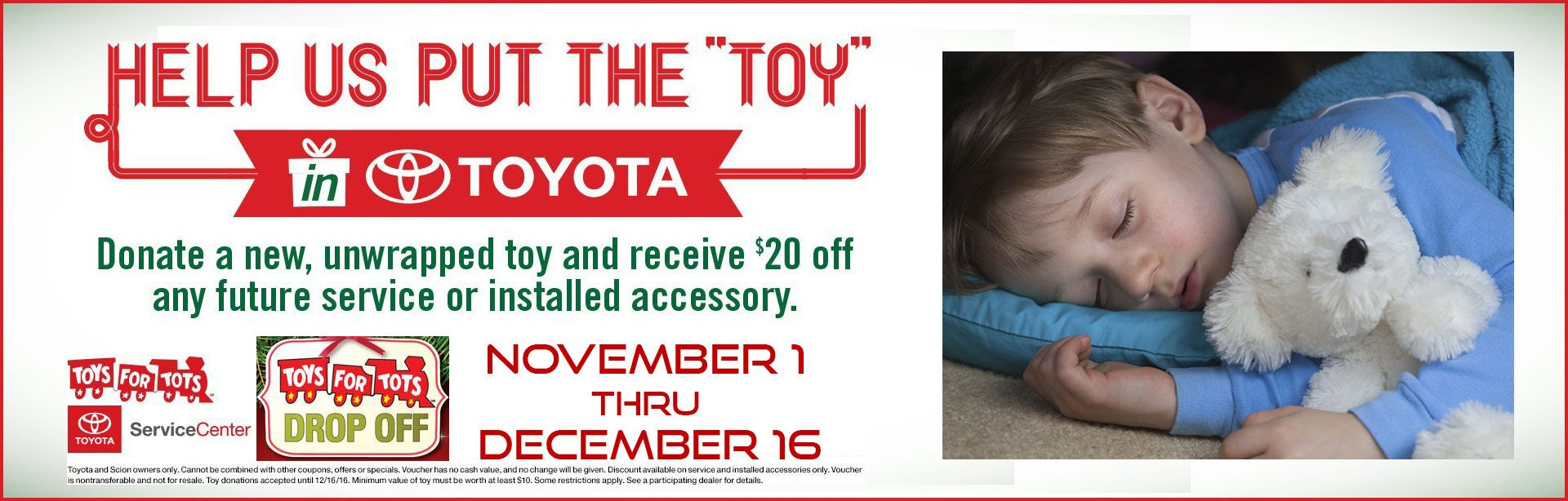 Toyota Toys for Tots