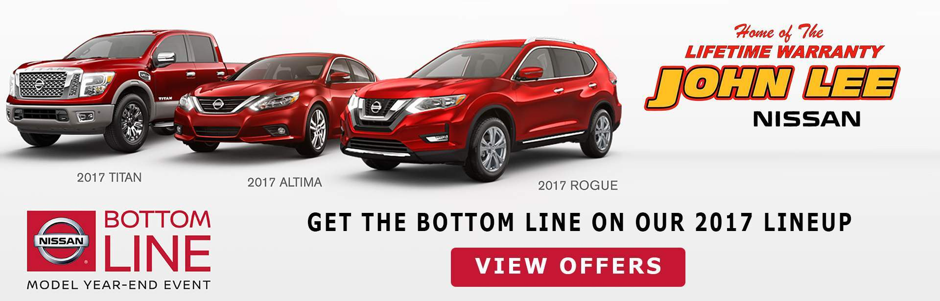 BOTTOM LINE SALES EVENT AT NISSAN
