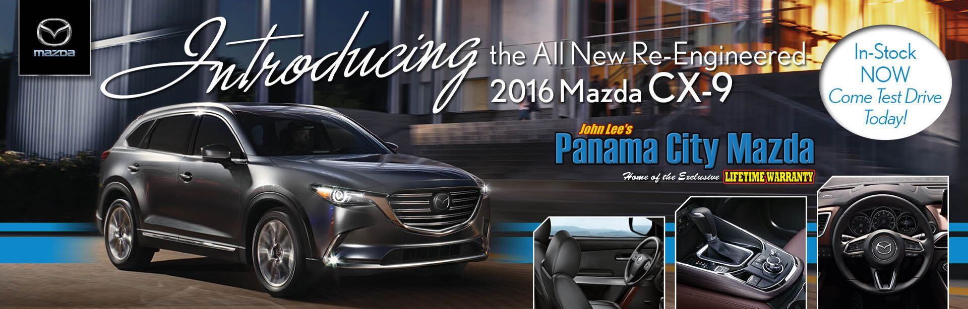 Introducing the all new Mazda CX-9