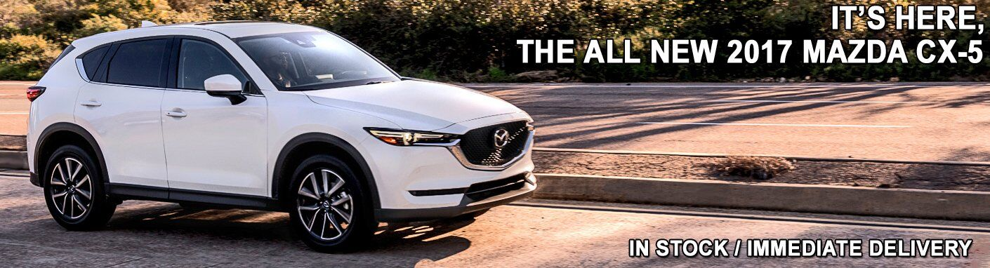 It's arrived – The ALL NEW 2017Mazda CX-5