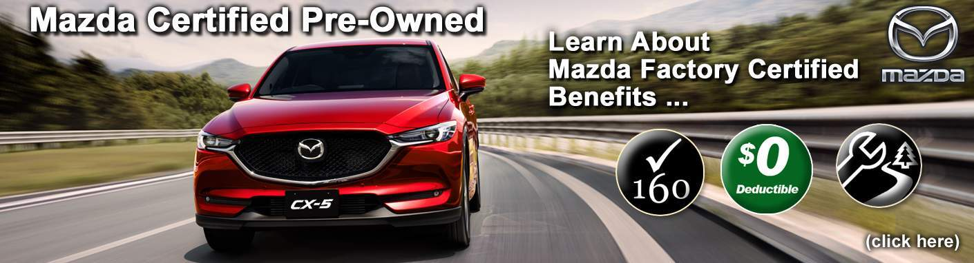 Mazda Factory Certified Pre-Owned