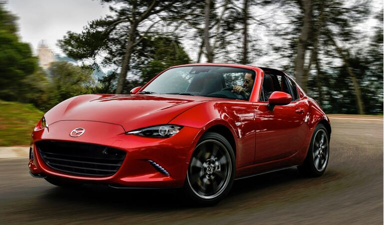 The All New 2017 Mazda MX-5 RF is HERE