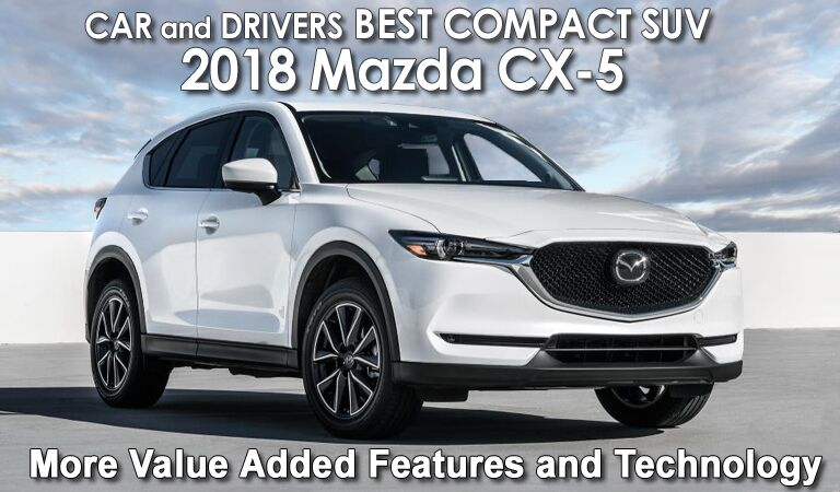 The 2018 Mazda CX-5 - BEST COMPACT SUV