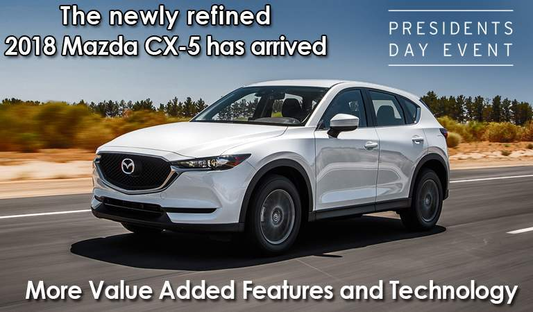 The 2018 Mazda CX-5 has arrived