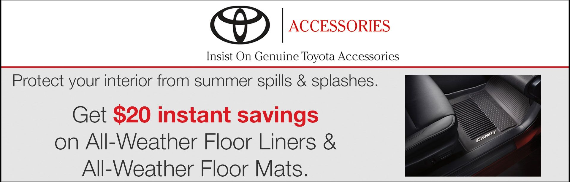 Toyota Accessories Promotion