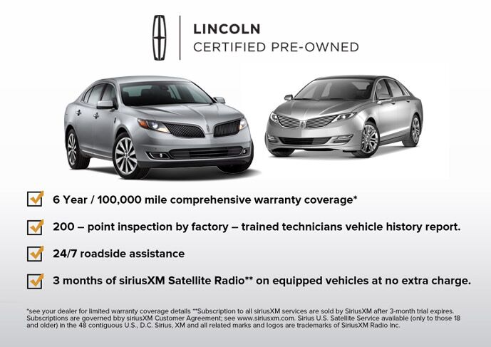 Lincoln Certified Pre-Owned