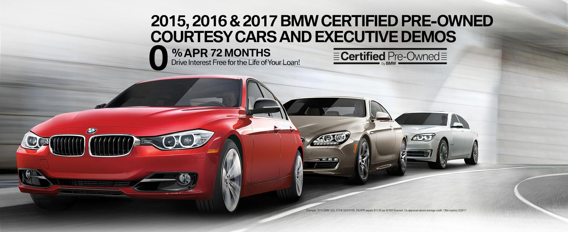 2015, _2016_&_2017_BMW_Certified_Pre-owned_Courtesy_Cars_and_Executive_Demos
