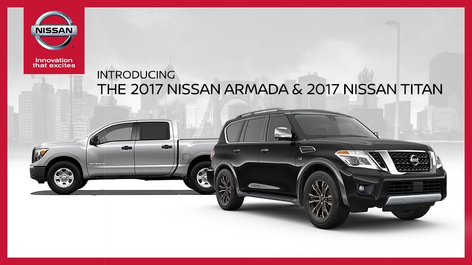 2017 Titan and Armada
