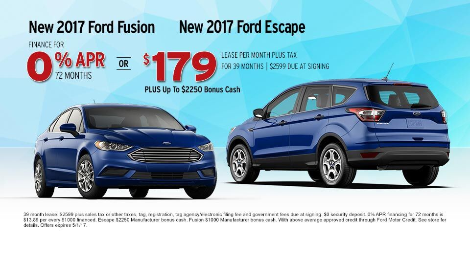 2017_Ford_Fusion_2017_Ford_Escape