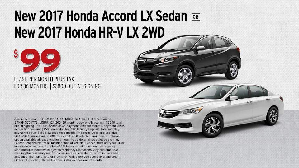 Accord and HR-v