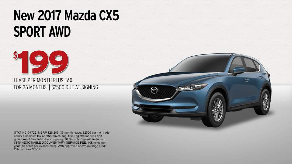 2017 Mazda CX5  AutoNation Mazda Spokane