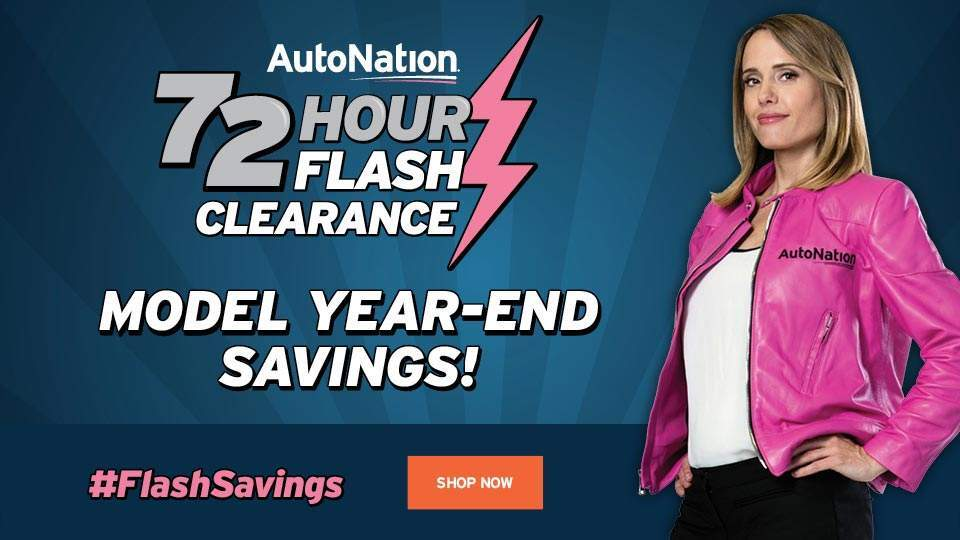 72 Hour Flash Sale AutoNation Ford Margate