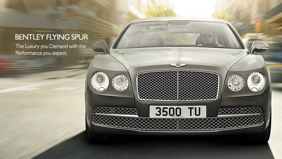 New Bentley Flying Spur at Newport Auto Center
