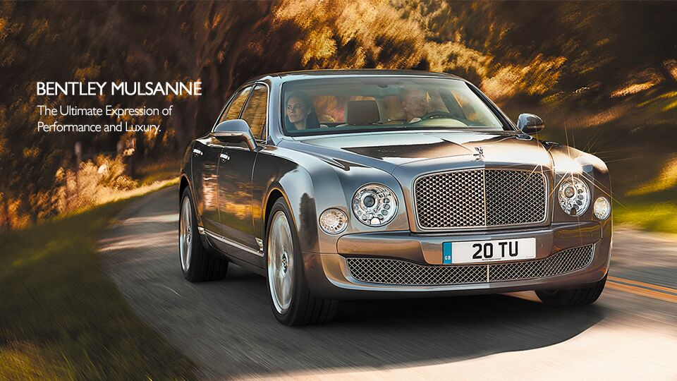 New Bentley Mulsanne at Newport Auto Center