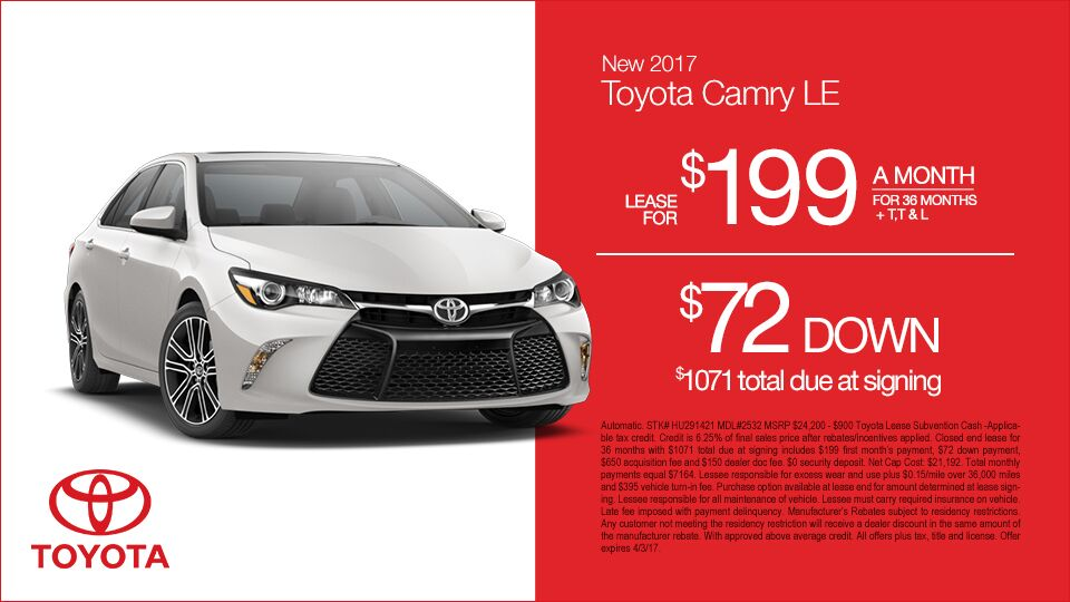 New-2017-Toyota-Camry-LE