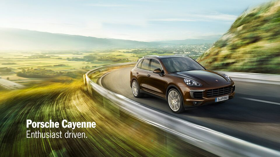New Porsche Cayenne at Newport Auto Center