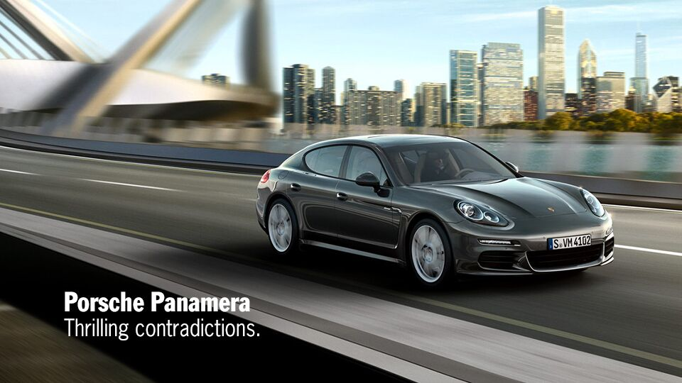 New Porsche Panamera at Newport Auto Center