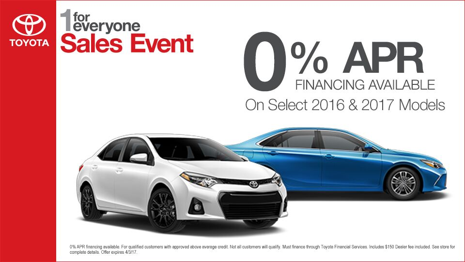 1 For Everyone Sales Event