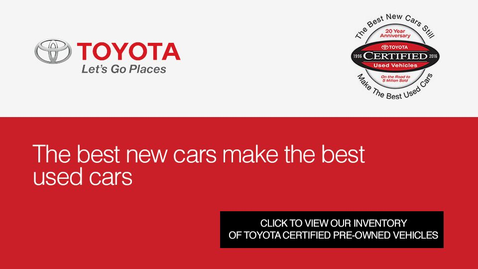 Toyota Certified Used