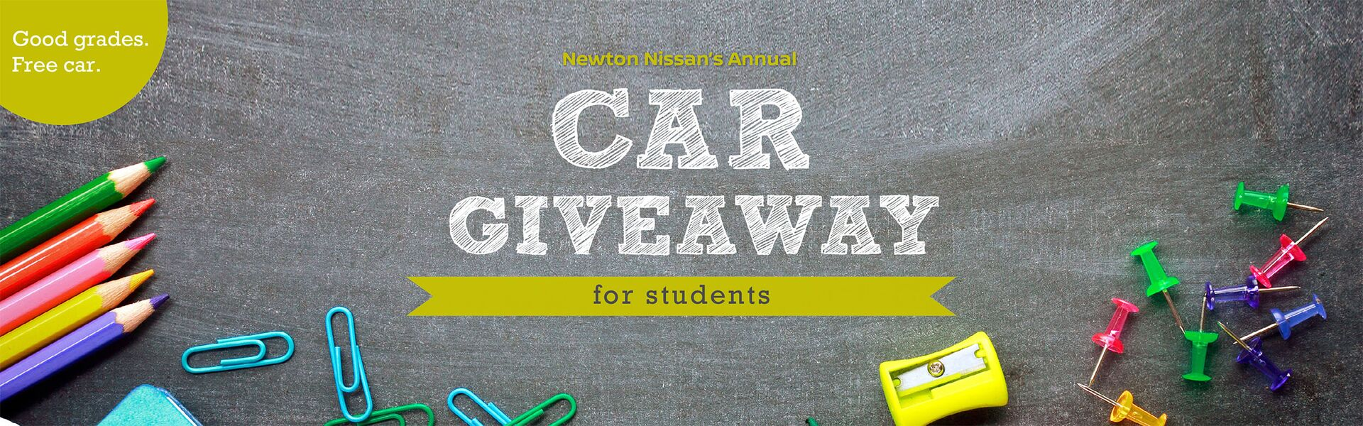 Car Giveaway for Students