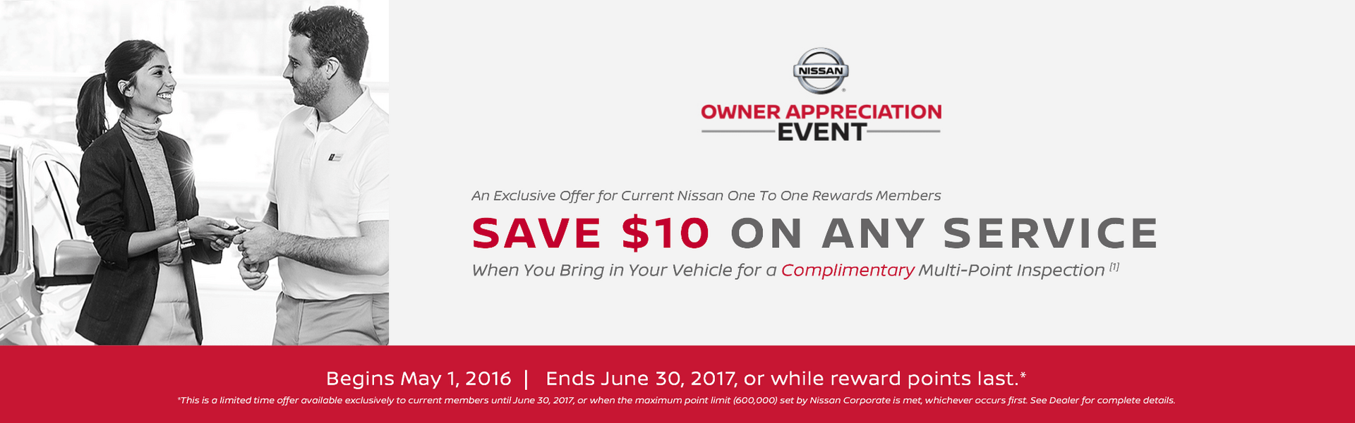 $10 Off Nissan Service