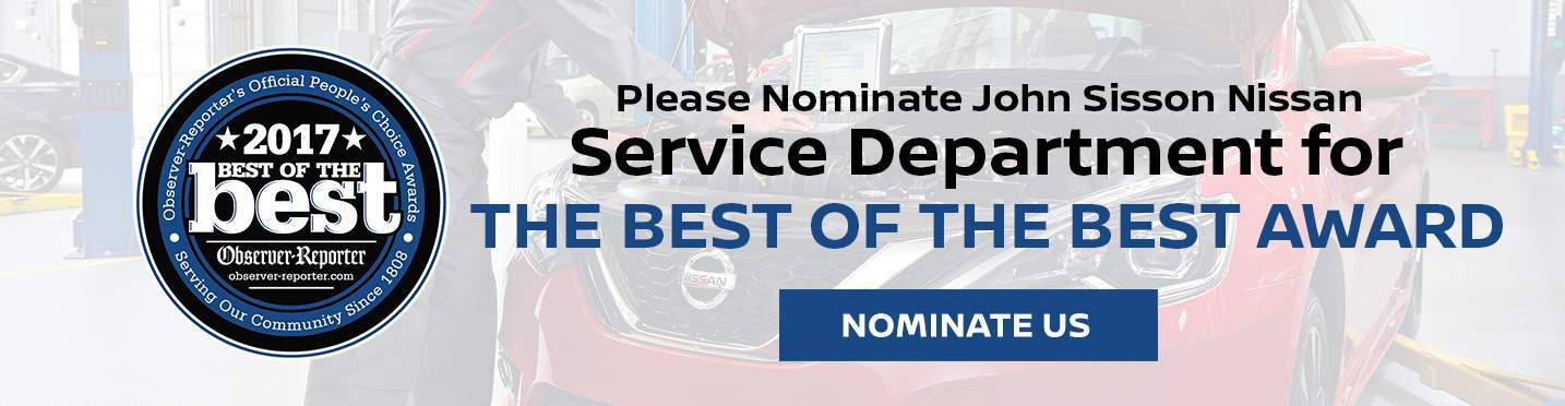 Nominate Our Service Department