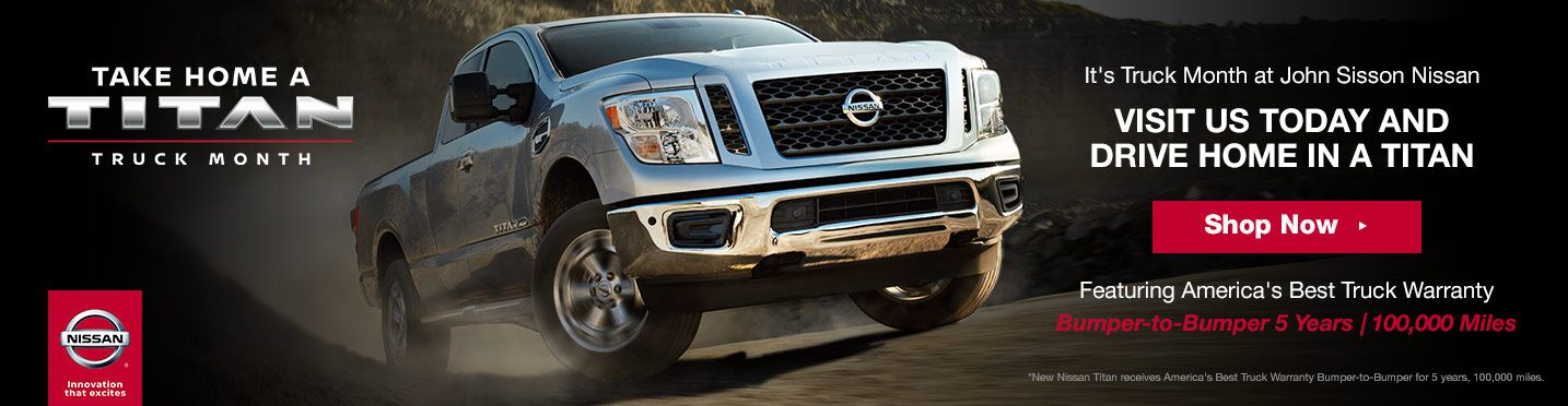 Truck Month at John Sisson Nissan