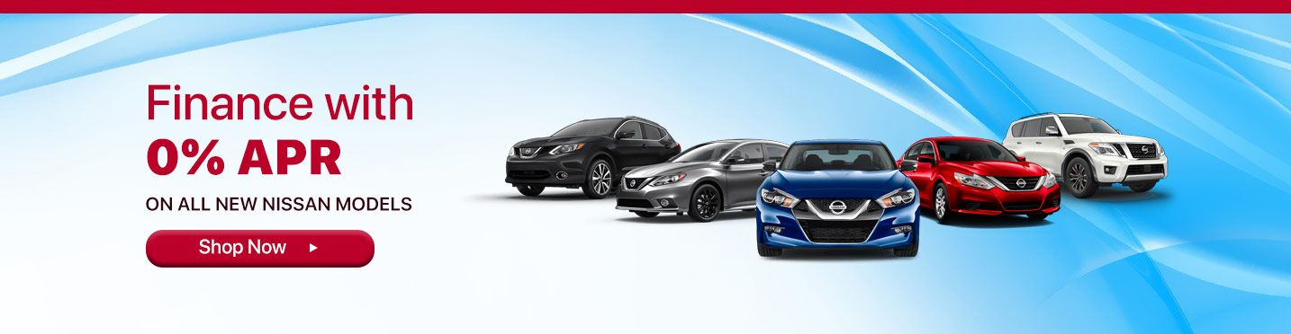 0% APR on All New Nissan Vehicles