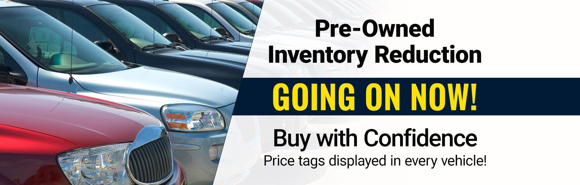 Pre Owned Inventory Reduction