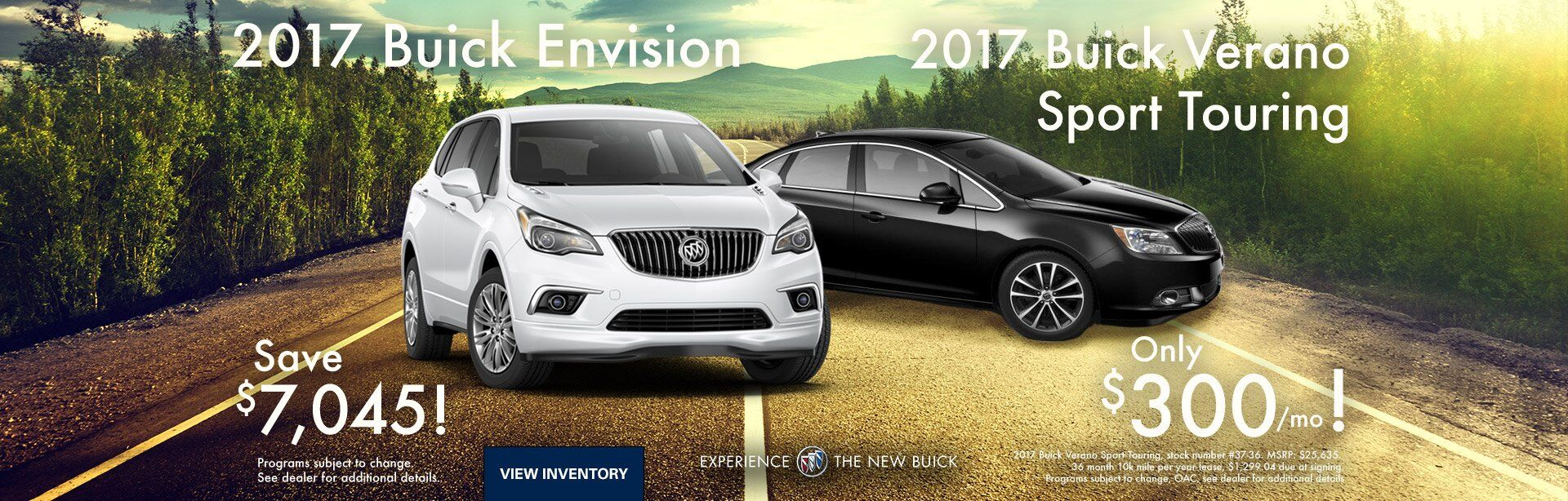 2017 Buick Envision and Verano Sport Touring