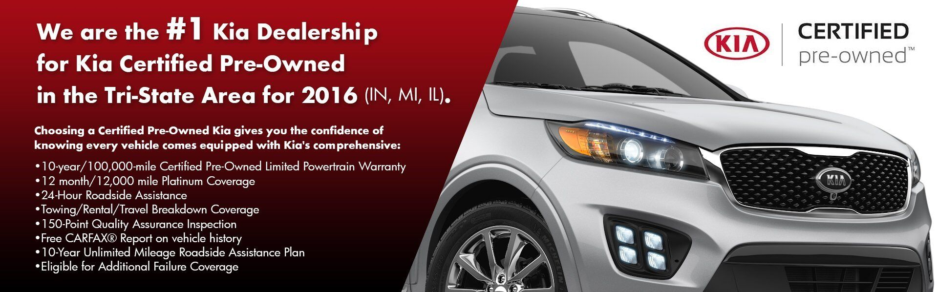 #1 Kia Dealership for Kia Certified Pre-Owned