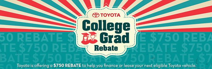 College Rebates | Toyota South