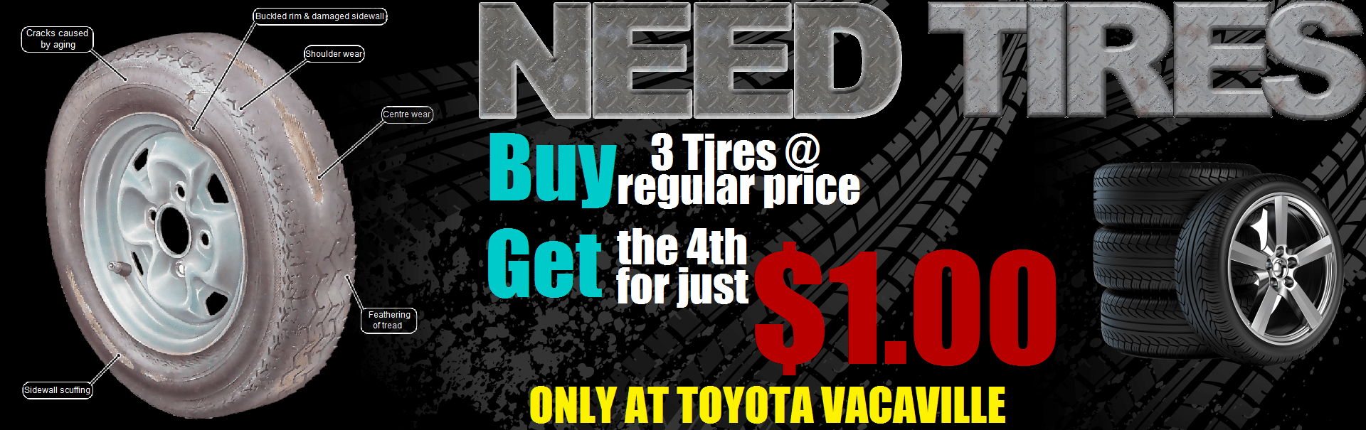 Bogo Tires at Toyota Vacaville