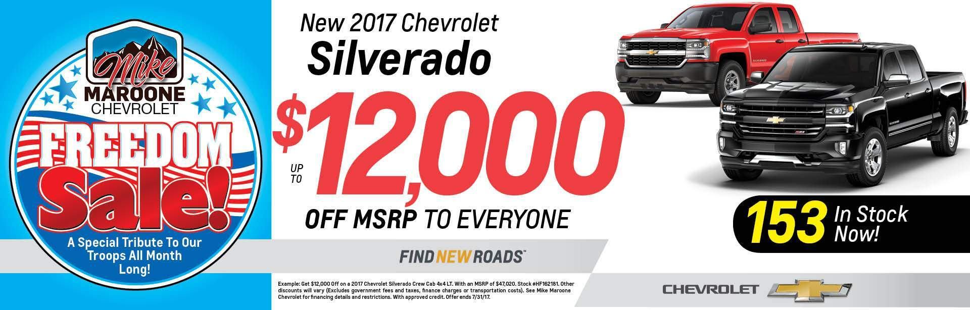 New Chevy Silverado 1500 Colorado Springs
