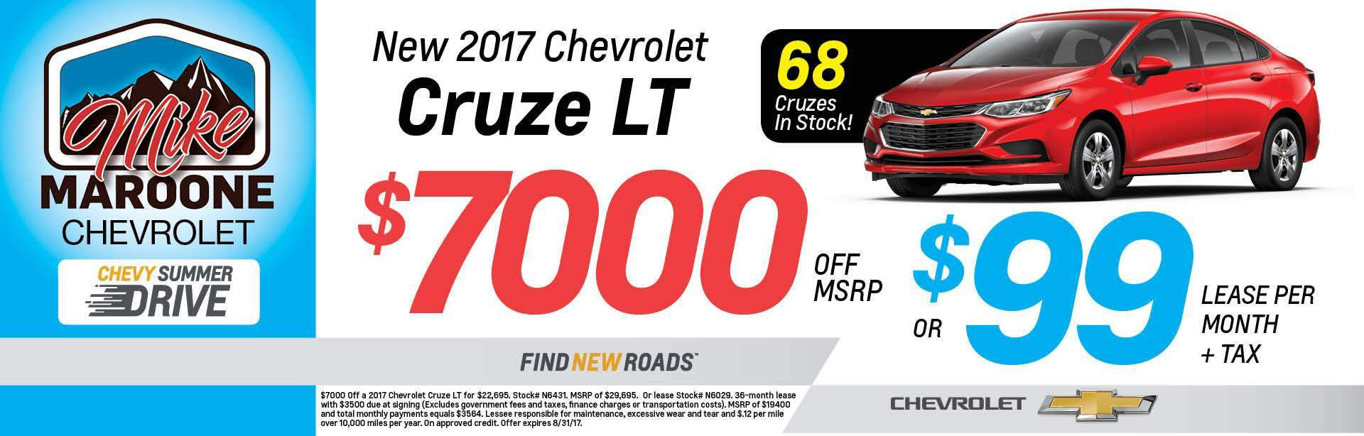 2017 Chevrolet Cruze Colorado Springs