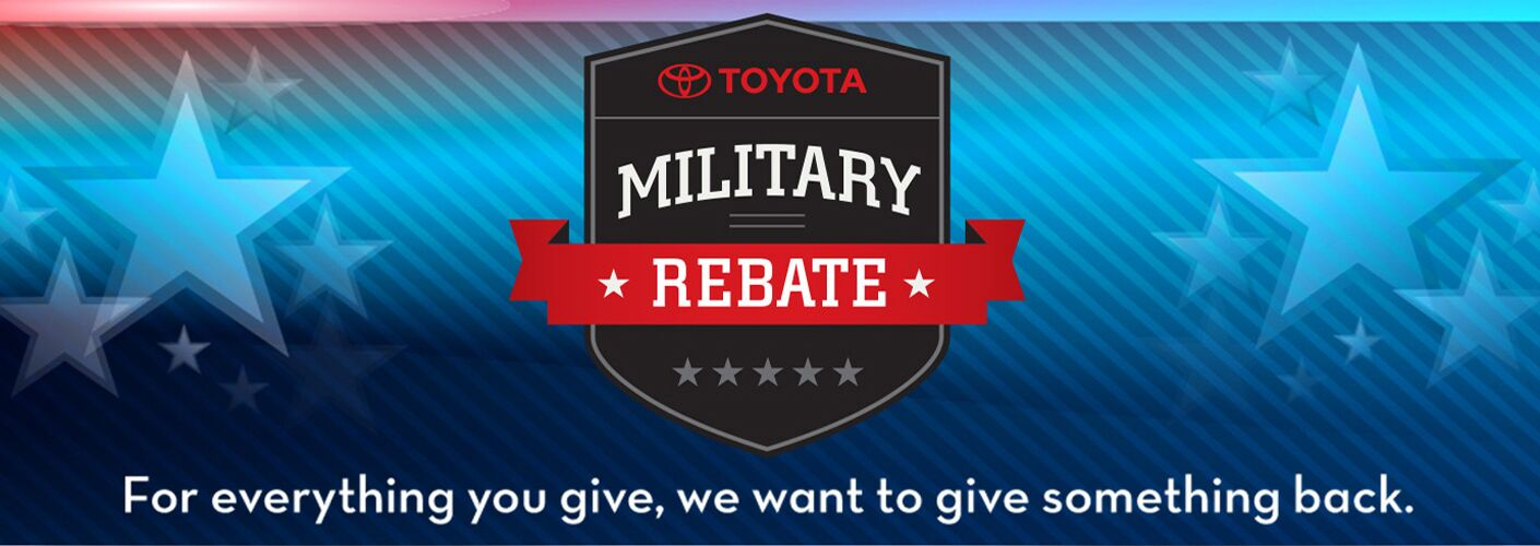 Military Rebate in St Louis