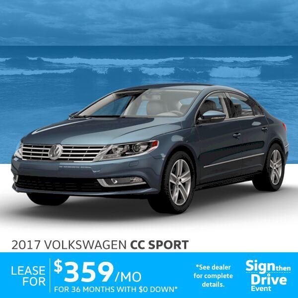 New 2016 Volkswagen Lease Specials