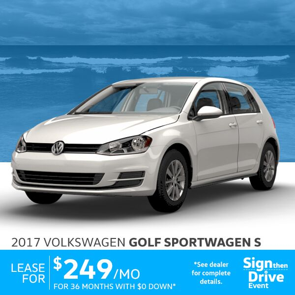 Volkswagen Golf Lease Los Angeles 2017 2018 2019 Volkswagen Reviews
