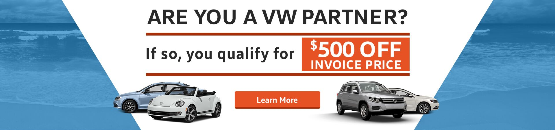 VW Partner Program Slider