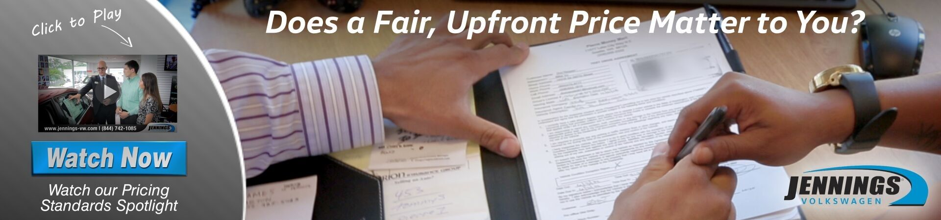 Fair & Upfront Pricing