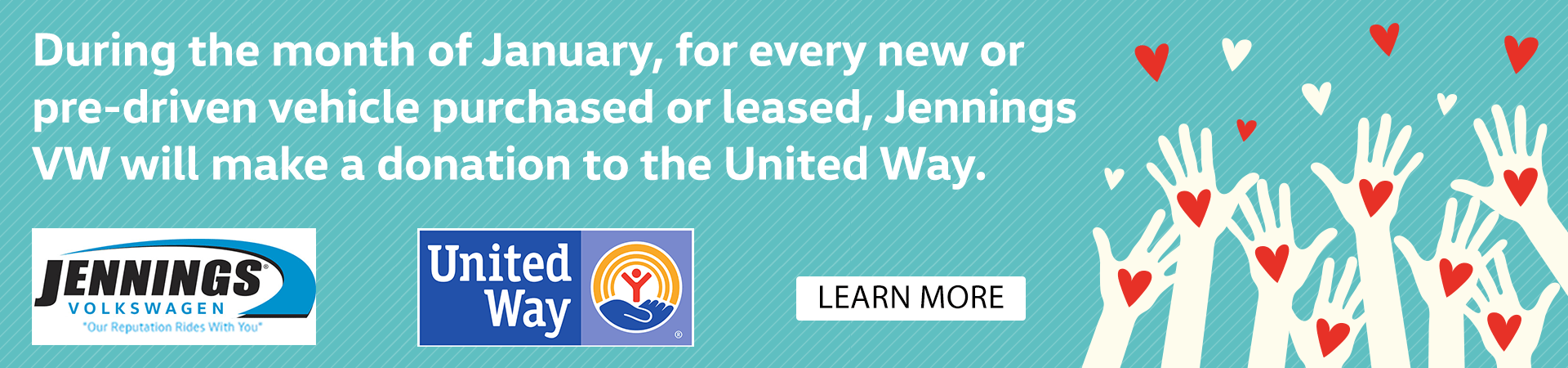 Jennings VW - United Way