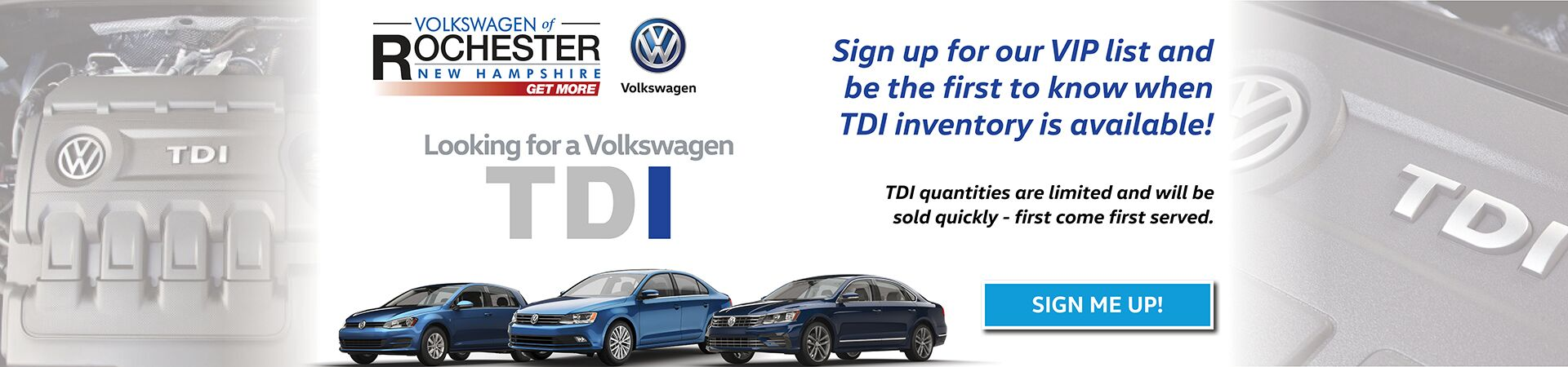 TDI Sign Up