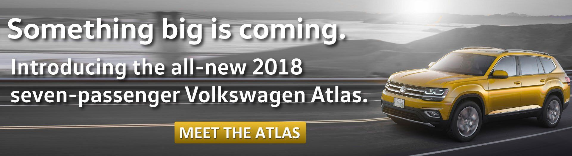 The VW Atlas will be coming to Douglas soon!