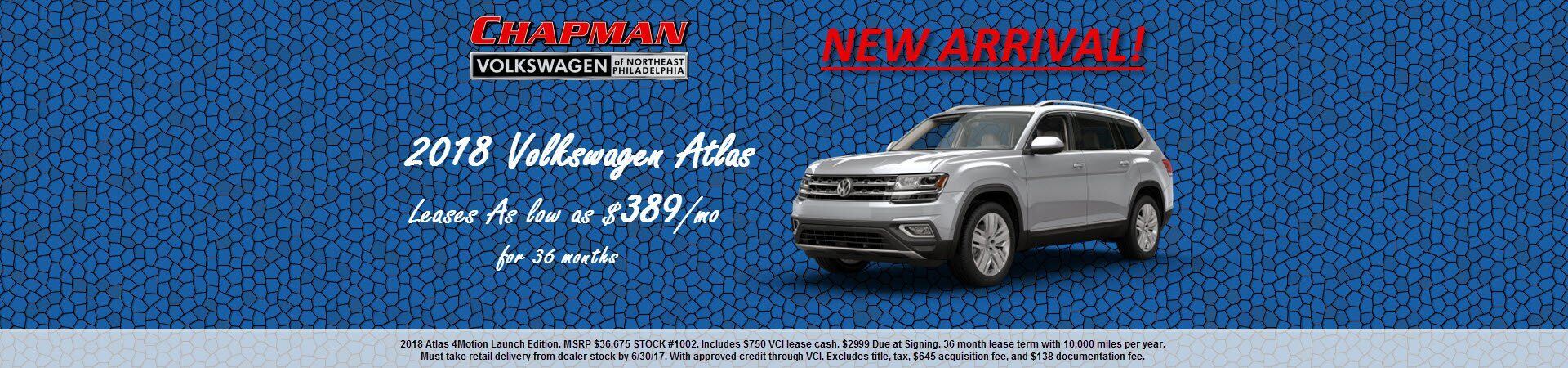 VW Atlas Lease