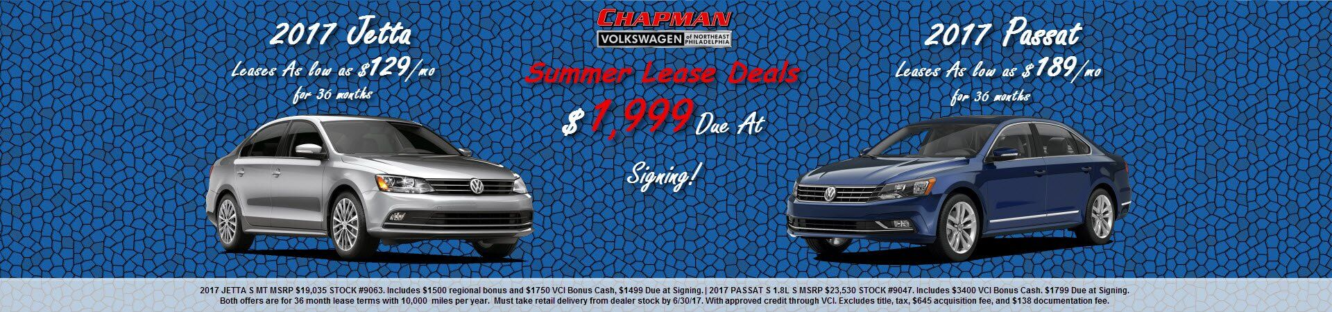Summer Lease Offers