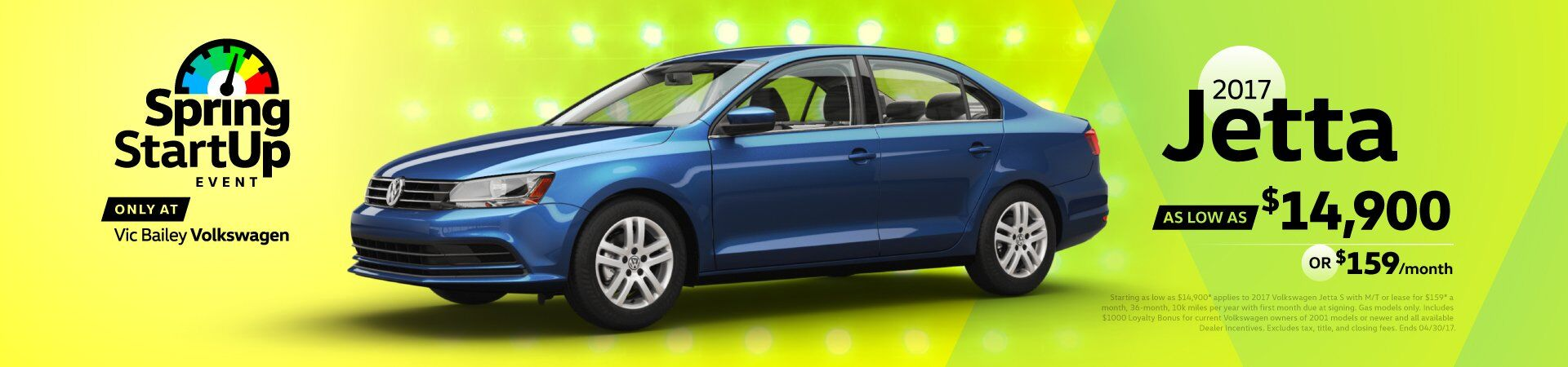 April Sales Event - Jetta