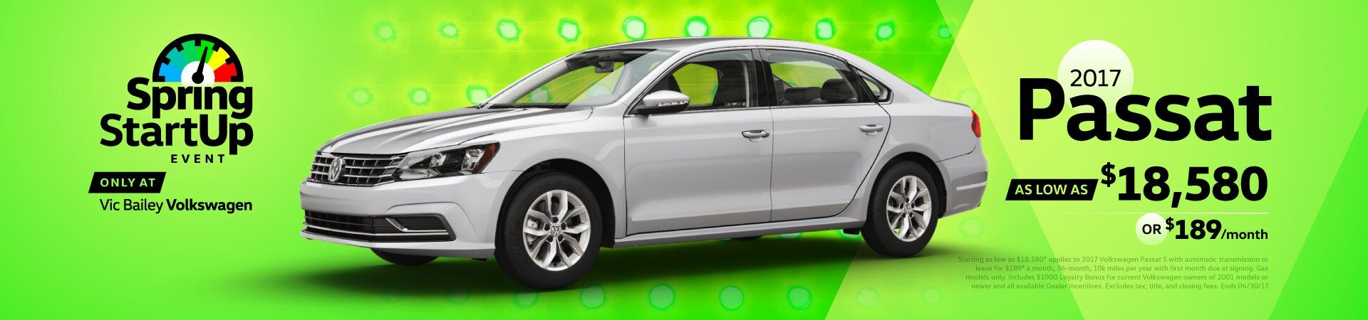 April Sales Event - Passat