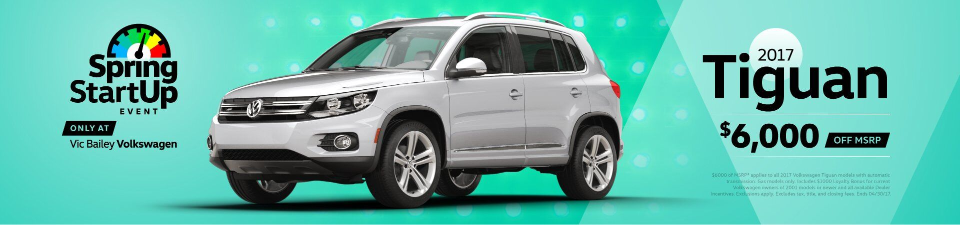 April Sales Event - Tiguan